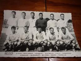 PHOTO CARTONNEE MIROIR SPRINT équipe De Football De REIMS  Années 60 - Soccer