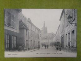 VILLENAUXE (Aube) - Rue De La Gare - Autres Communes