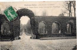 PONT SUR SEINE - Les Arcades Du Château De Mr Casimir Périer, Ancien Président De La République - Autres Communes