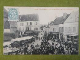 VILLENAUXE - Le Marché - Rue Du Cimetière (animée) - Autres Communes