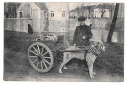 Bruges Laitier Brugeois Brugsch Melkgespann Globe 1918 - Brugge