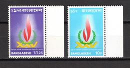BANGLADESH  N° 41 + 42  NEUFS SANS CHARNIERE COTE  0.60€   DROITS DE L'HOMME - Bangladesh
