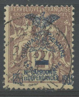 Nouvelle Caledonie (1903) N 81 (o) - Usados