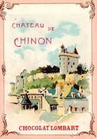 3 Chromos Belle Illustration Château De Compiègne , De Chinon , De Chenonceaux - Lombart