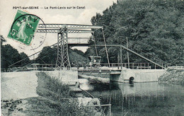 PONT SUR SEINE - Le Pont Levis Sur Le Canal - Autres Communes