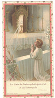 LE COEUR DE JESUS SOUVENIR PAROISSE ST ETIENNE PEPIEUX ANNE MARIE DUMAS IMAGE PIEUSE HOLY CARD SANTINI PRENTJE - Andachtsbilder