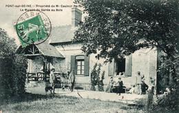 PONT SUR SEINE - Propriété De Mr Casimir Périer - La Maison Du Garde Au Bois - Autres Communes