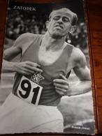 PHOTO CARTONNEE MIROIR SPRINT Zatopek - Athletics