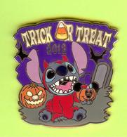 Pin's BD Disney Stitch Halloween ÉL - 1E02 - Disney