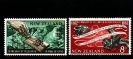 NEW ZEALAND - 1962  TELEGRAPH CENTENARY  SET  MINT NH - New Zealand