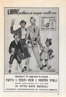 LpT. Libro Per Tutti. Advertising 1953 - Prenten & Gravure