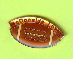 Pin's Mac Do McDonald's Loves Football - 1E06 - McDonald's