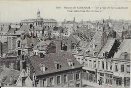 [59] Nord > Ruines De Cambrai Vue Prise De La Cathedrale - Cambrai