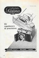 Kodak Retina IIa. Un Capolavoro Di Precisione.  Advertising 1953 - Prenten & Gravure