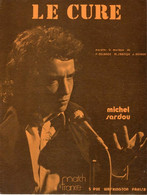 MICHEL SARDOU - LE CURE - DE DELANOE REVAUX SARDOU - 1973 - ETAT PROCHE DU NEUF - - Música & Instrumentos