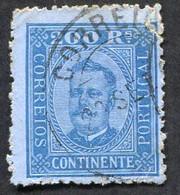 Portugal N°76 Oblitéré, Qualité Standard - 1892-1898 : D.Carlos I