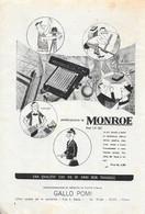 Calcolatrice Monroe.  Advertising 1953 - Prenten & Gravure