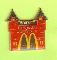 Pin's Mac Do McDonald's Hallen Am Borsi Château - 1E11 - McDonald's