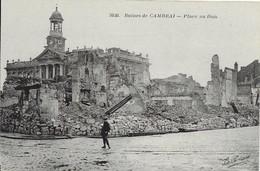 [59] Nord > Ruines De Cambrai Place Au Bois - Cambrai