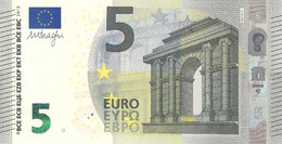 5 Euro - Signature M.Draghi Serie NB - AUSTRIA Plate N018 Perfect UNC - EURO