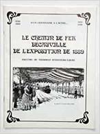 LE CHEMIN DE FER DECAUVILLE DE L'EXPOSITION DE 1889 - Railway