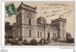 "Cpa  ( Dep 16 )   à MONTGAUDIER Environ De Montbron  """"  Villa  Paignon 1910 "" - Francia"