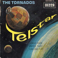 Disque - The Tornados - Telstar - DECCA 454.088 S - France 1962 - - Rock