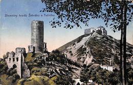 Zriceniny Hradu Zebraku A Tocniku  (colors 1919) - República Checa