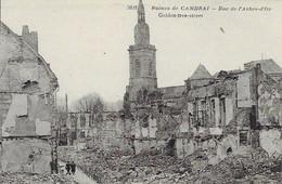 [59] Nord > Ruines De Cambrai Rue De L' Arbre D'Or - Cambrai