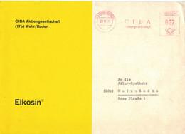 [A4] AFS 17b Wehr Baden - Ciba Aktiengesellschaft AG 1961 - Elkosin - Geneeskunde