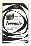 Ferrania Astor 6x6 / Numeria Lagomarsino.  Advertising 1953 - Prenten & Gravure