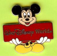 Pin's BD Disney Mickey Walt Disney World - 1E14 - Disney