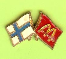 Pin's Mac Do McDonald's Finlande Drapeau - 1E15 - McDonald's