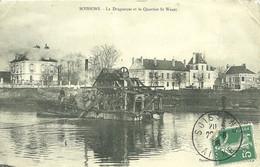 02 AISNE SOISSONS DRAGUEUSE SAINT WAAST 1908 JOLI   PLAN - Soissons