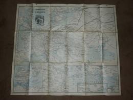 Carte Recto Réseau Chemin De Fer En Belgique SNCB Et Verso Réseau Chemin De Fer En Europe  - 1899 Transibérien Etc - Landkarten