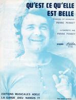 PIERRE PERRET - QU'EST CE  QU'ELLE EST BELLE - 1970 - EXCELLENT ETAT PROCHE DU NEUF  - - Música & Instrumentos