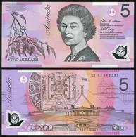 Australia - 5 Dollars 2007 UNC Lemberg-Zp - Australie