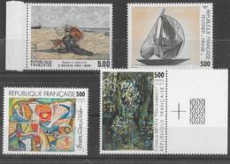 FRANCE N°2473,2474 2493 Et 2494 **  Neufs Luxe Sans Charnière MNH - Unused Stamps