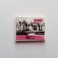Fève Région Moselle Metz Façon Timbre - Région