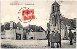 36 BELABRE - Place Du Marché - Frankrijk