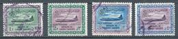 Arabie Saoudite Poste Aérienne YT N°7-8-9-10 Avion Convair 440 Oblitéré ° - Saudi Arabia