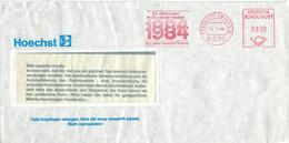 [A4] AFS 6230 Frankfurt Main 1984 - EIn Jahrhundert Im Dienste Der Medizin - Höchst Pharma - Geneeskunde