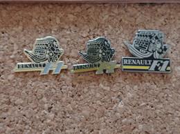 LOT DE 3 PINS FORMULE F1 MOTEUR RENAULT - F1