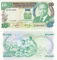 Kenya - 10 Shillings 1988 P. 20g UNC Lemberg-Zp - Kenia