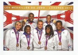 EQUIPE DE FRANCE DE JUDO - Les Médaillés Olympiques De Londres 2012 - Oosterse Gevechtssporten