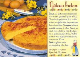 CPM - RECETTE DE CUISINE - LE GATEAU BRETON - Recetas De Cocina