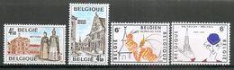 BELGIE 1978  (2) * Nr 1907/10 * Postfris Xx * ONDER DE POSTPRIJS - Bélgica