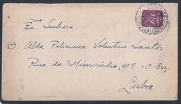 Sta. Cruz Das Flores. Santa Cruz Das Flores. Ilha Das Flores, Açores. Carta Circulada 1945. - 1910-... République