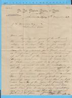 1898 - Bell Telephone Canada - Letter To J.R. Dennison Richmond Que. Sherbrooke Agency - Facturas & Documentos Mercantiles