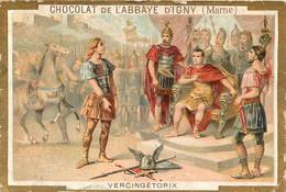 CHROMO CHOCOLAT DE L'ABBAYE D'IGNY  VERCINGETORIX - Schokolade